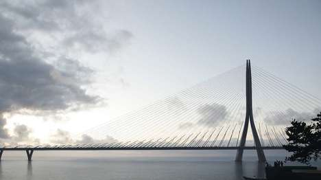 Asymmetrical River Bridges - The Danjiang Bridge Will Be Designed By Zaha Hadid Architects