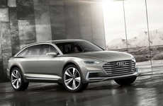 Environmentally Mindful SUVs - This All-Electric Concept Audi SUV Boasts a 300 Mile Range