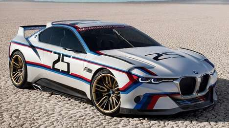 Homage-Paying Racecars - The 3.0 CSL Hommage R Celebrates 40 Years of BMW in North America
