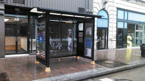 Bus Shelter Jazz Clubs - This Bus Stop in Pittsburgh Was Transformed into a Tiny Concert Hall