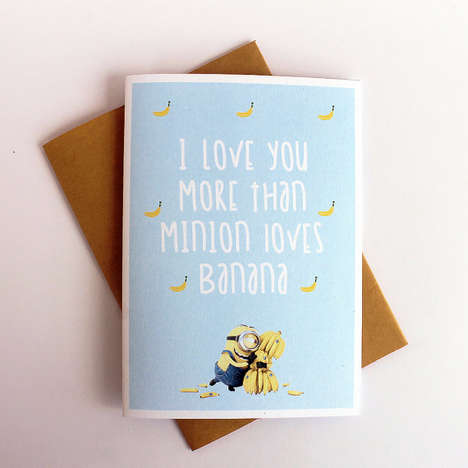 Romantic Alien Cards - This Printable Valentine's Day Card Makes the Perfect Gift