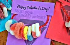 DIY Candy Necklaces - HGTV's Sweet Tutorial is a Fun Valentine's Day Craft