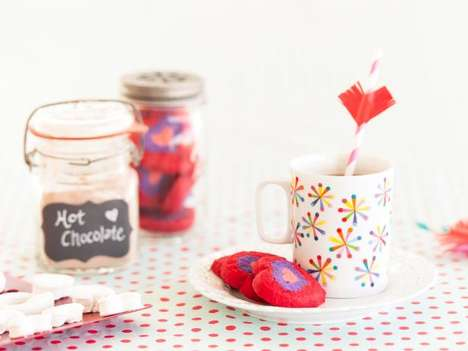 Cupid-Inspired Cocoa Recipes - This DIY Recipes Makes a Romantic Cup of Hot Chocolate for Two