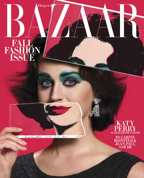 Costumed Celebrity Editorials - The Harper's Bazaar 'Icons' Photoshoot Styles Celebs as Other Stars