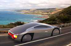 Aerodynamic Solar Cars