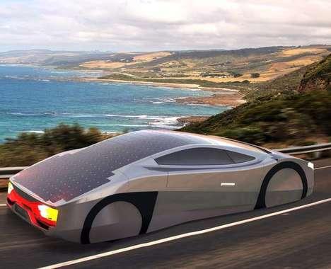 Aerodynamic Solar Cars