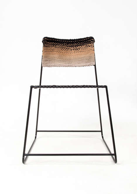 Upcycled Clothing Chairs - Anna Herrmann Uses Old Clothes to Make Sustainable Furniture