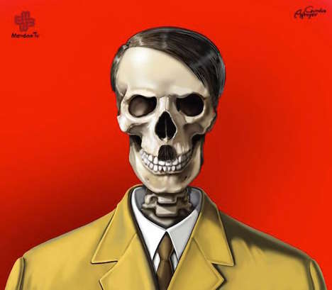 Terrifying Political Illustrations - 'Just Leaders' is a Satire on History's Famous Dictators