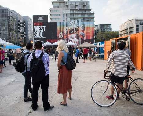 Shipping Container Block Parties