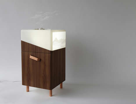 Sensory Therapy Furnishings - This Furniture Line Treats Mental Health with Light and Aromatherapy