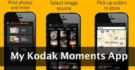 App-Connected Printing Kiosks - This Kodak Kiosk Receives Image Orders Directly from a Synced App