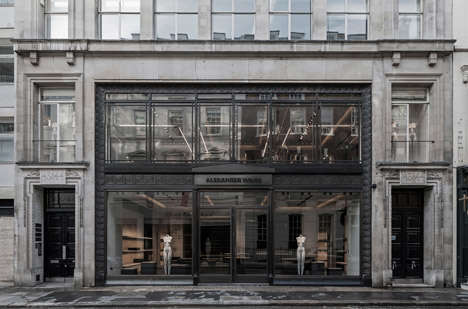 Contemporary Flagship Boutiques - Alexander Wang's Flagship Store Features a Grayscale Interior