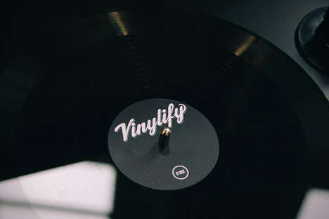 Personalized Vinyl Records - This Service Allows Users to Create Custom Records on Demand