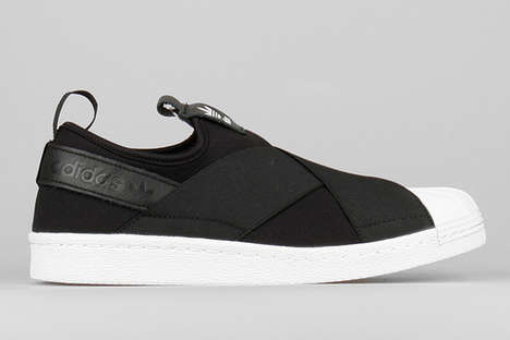 Bandaged Slip-On Sneakers - The Adidas Originals Superstar Slip-Ons Keep Feet Extra Secure