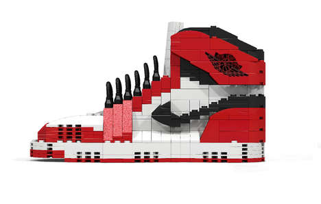 Iconic LEGO Sneakers - Aritist Tom Yoo Reveals His LEGO Iteration of the Classic Air Jordans