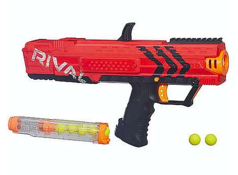 Rapid-Fire Toy Guns - The 'Rival' NERF Guns Shoot Foam Balls at 70 MPH