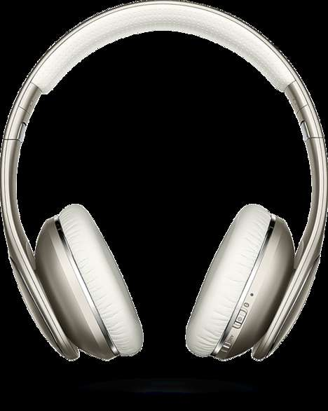 Seamless Wireless Headphones - This Music Accessory Headset by Samsung Boasts Perfect Sound Quality