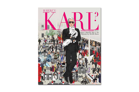 Couture Children's Books - The 'Where's Karl?' Picture Book Refashions an Iconic Kid's Classic