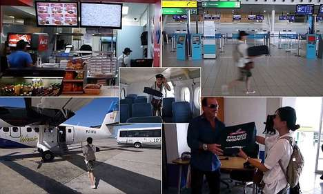 Flying Pizza Deliveries - Dominos Now Delivers Pizza by Plane to Small Caribbean Islands