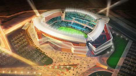 Kinetic-Skin Stadiums - The New San Diego Chargers Stadium Features a Unique Kinetic Skin