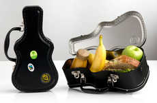 Guitar Lunch Boxes - This Lunch Bag Design Cleverly Takes Inspiration From Musical Instruments
