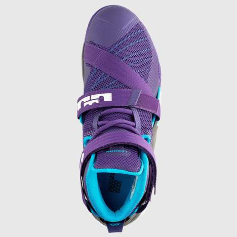 Sporty Team Sneakers - The Nike Lebron Zoom Solider 9 Take Inspiration From the Hornets