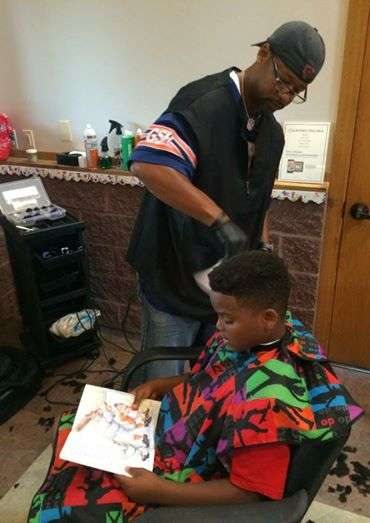 Educational Barber Initiatives - This Barber Creates Child Haircuts When Patrons Have Read a Book