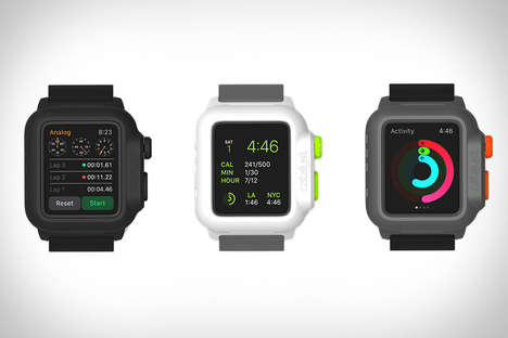 Waterproof Watch Cases - The Cataylst Apple Watch Case Allows You Take Your Device Anywhere