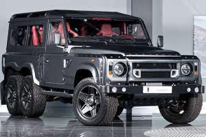 Customized Wilderness Cars - The Kahn Land Rover Defender Comes Complete With Six Wheels