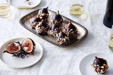 Cheesy Fig Appetizers - These Stuffed Figs are Filled with a Delicious Blend of Cheeses