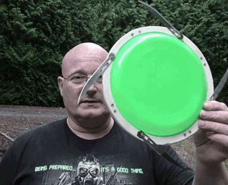 Weaponized Frisbees