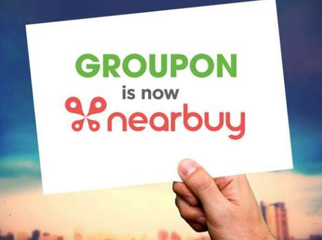 Rebranded Discount Platforms - Groupon India Becomes Nearbuy in an Effort to Grow its Mobile Market