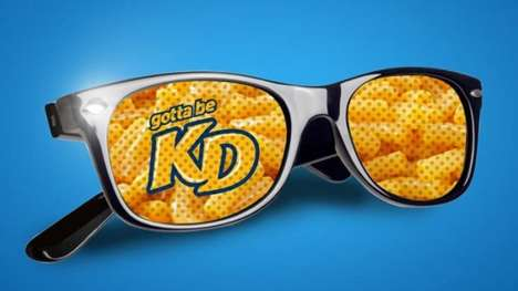 Revamped Comfort Food Labels - The Recent Kraft Dinner Rebranding Adopts the 'KD' Name