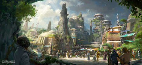 Sci-Fi Amusement Parks - Star Wars Disneyland Will Transport Visitors to a Galaxy Far, Far Away