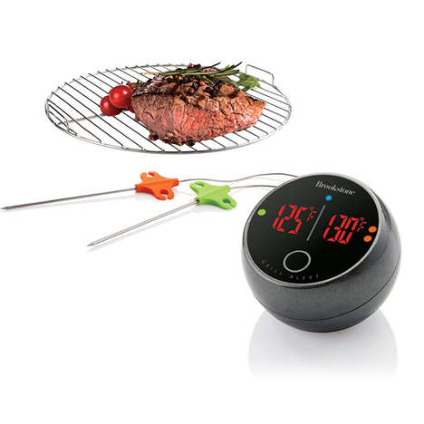 Bluetooth Grill Thermometers - This App-Connected Thermometer Perfects Backyard Barbecuing
