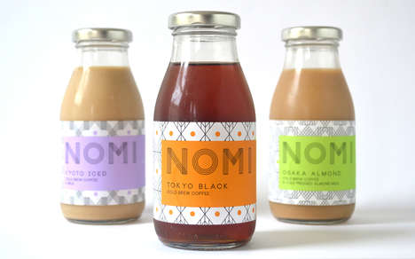 Chilled Japanese Coffees - The Nomi Brand Unviels Three New Japanese-Inspired Cold Coffee Brews