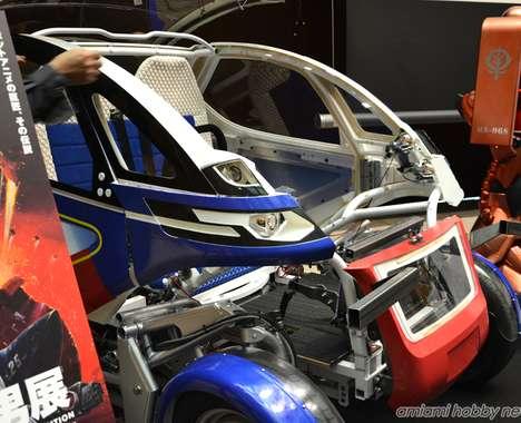 Anime-Inspired Smart Cars