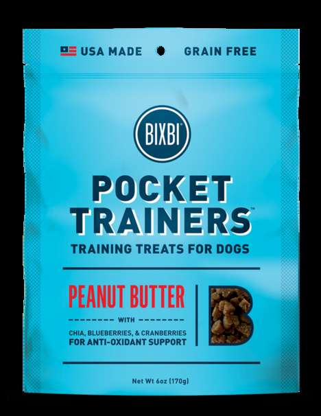 Glossy Pet Food Packaging - BIXBI's Nutritious Pet Treats Come In Eye-Catching Packaging