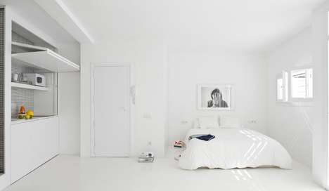 Minimalist Living Spaces - CaSa's 'White Room' Project Embodies The Power of Simplicity