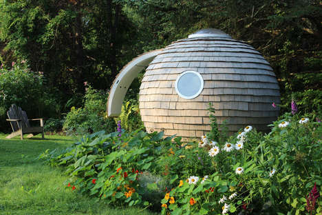 Personalized Backyard Pods - The 'Podzook' is a Sphere-Shaped Space Perfect for the Backyard