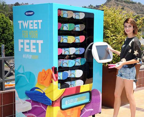 16 Social Media Vending Machines