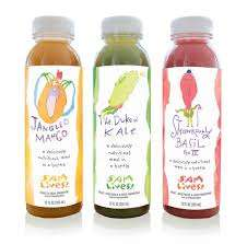 Meal-Replacement Juices - The Sam Lives! Juice Beverages are Packed with Nutrients and Flavor