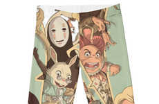 Whimsical Anime Leggings