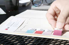 Versatile Adhesive Notebooks - The 'Glued Notebook' Makes Activities Like Scrapbooking a Breeze