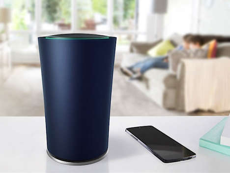 Stylish Wi-Fi Routers - Google's 'OnHub' Wireless Router Boasts Strong Signals and Style