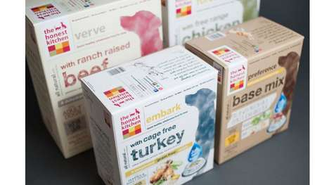 Sustainable Pet Food Packaging - Honest Kitchen's Packaging Won a Petfood 2.0 Innovation Award