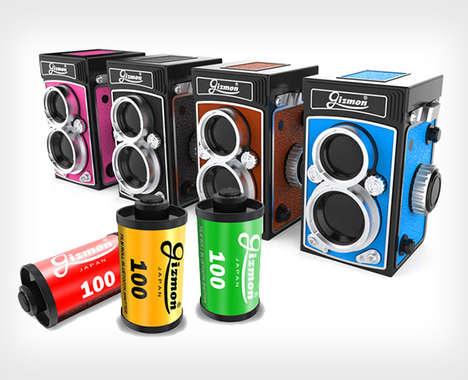 Retro-Inspired Camera Remotes
