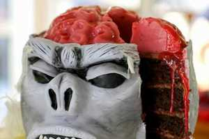 40 Unique Cake Designs - From Morbid Monkey Desserts to Anatomical Cartoon Cakes