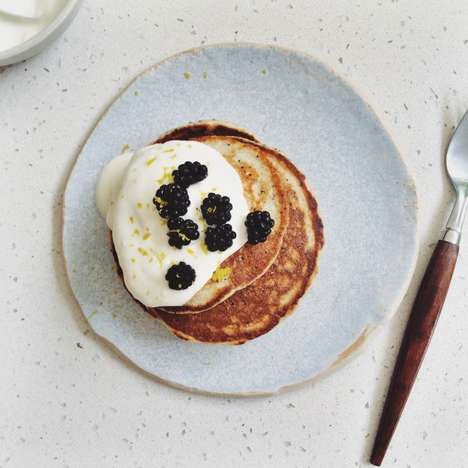 Lemon Poppy Seed Pancakes - The Recipe For These Yummy Wheat-Free Pancakes is a Tasty Morning Meal