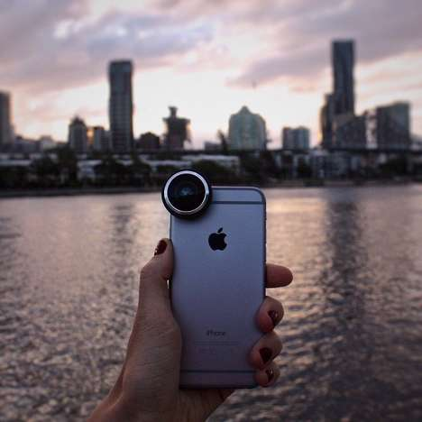 Panoramic Camera Enhancers - This Smartphone Camera Enhancer Improves Panorama Shot Quality